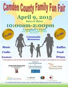 Camden County-Family Fun Fair Flyer 2015 English