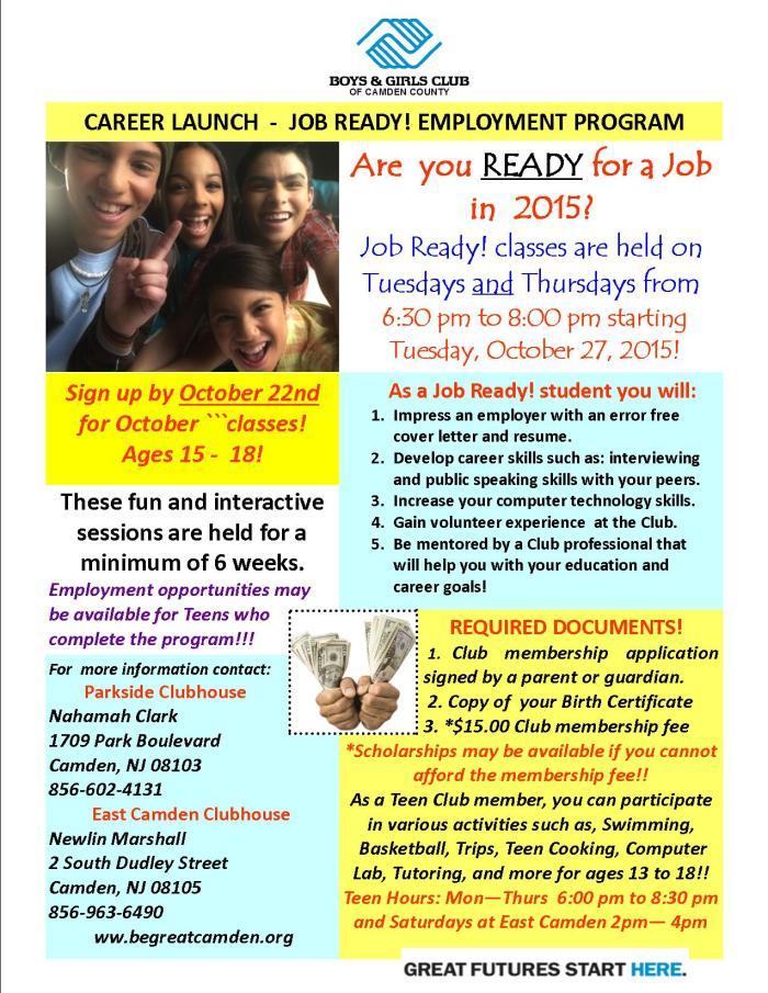BGCCC Job Ready Flyer October 2015