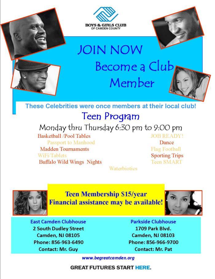 BGCCC Teen Membership