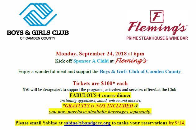 SAC Kickoff at Flemings short info