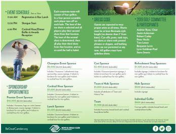 2019 Golf brochure in