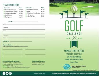 2019 Golf brochure out